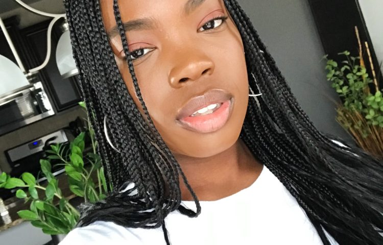 How I Wash My Hair In Protective Styles   Knotless Braids Tutorial