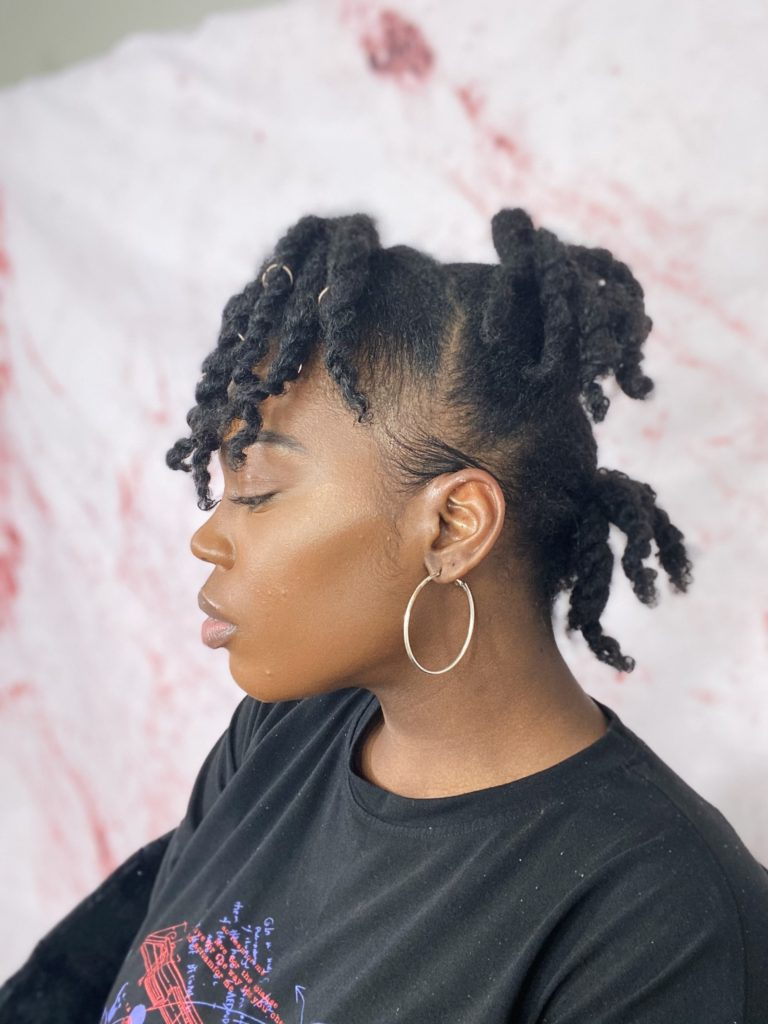 Styling An Old Twist/Braid Out